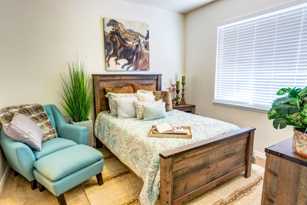 Single Bedroom in a home at The Wentworth at Willow Creek in Sandy, Utah