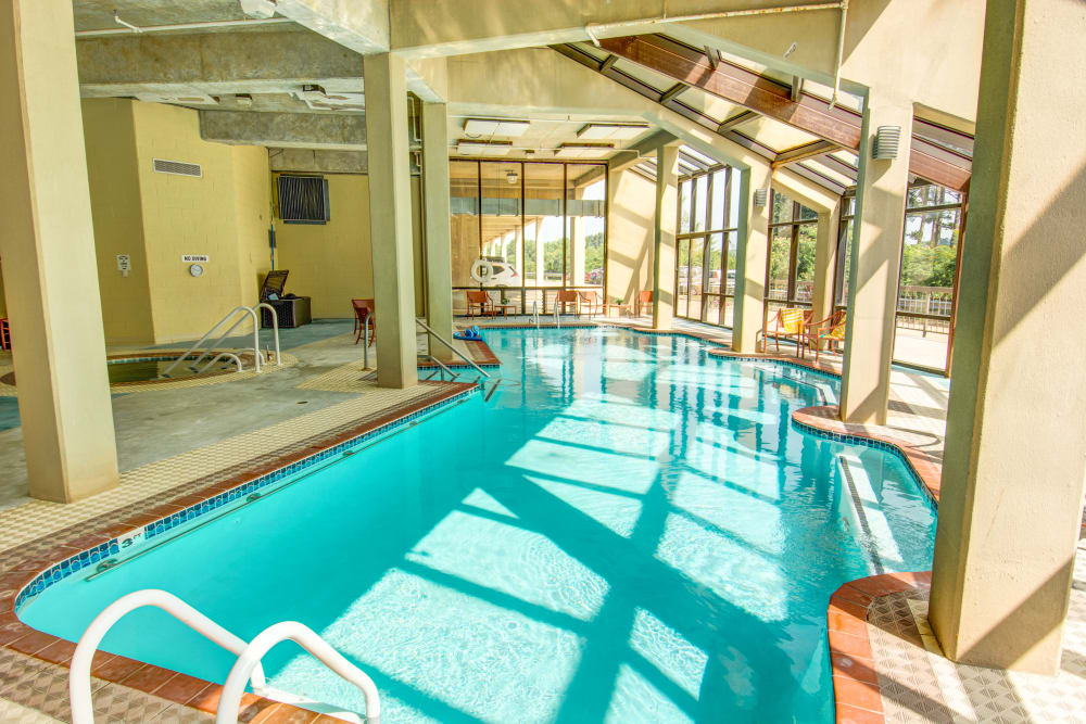 Woodland Heights in Little Rock, Arkansas pool with lots of natural light