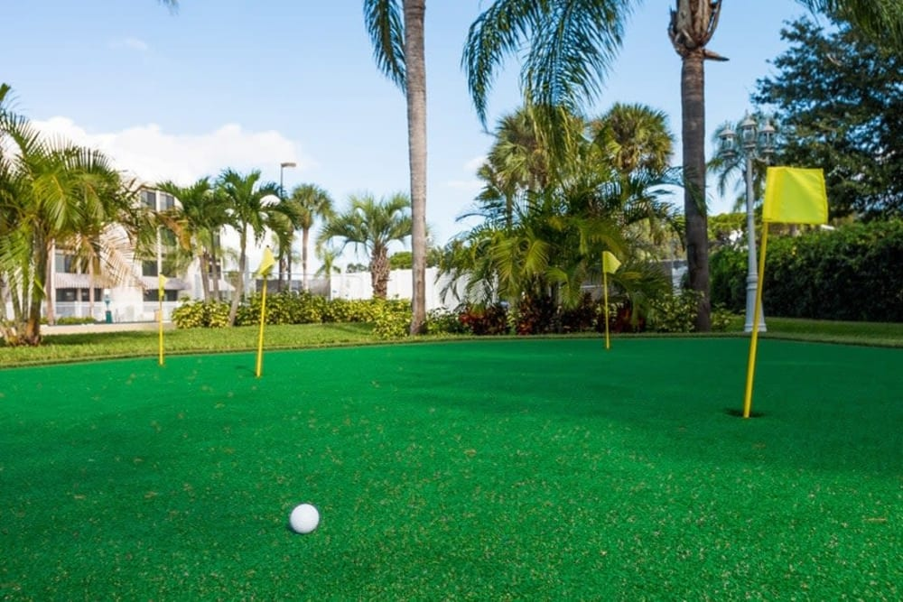 Golf course at Grand Villa of St. Petersburg in St. Petersburg, Florida