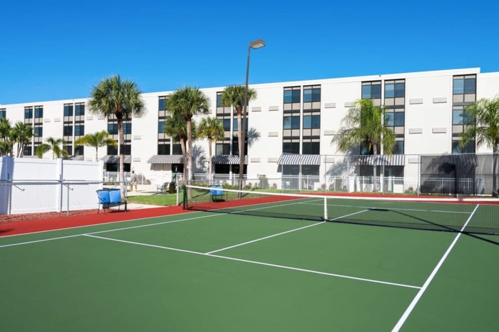 Tennis court at Grand Villa of St. Petersburg in St. Petersburg, Florida