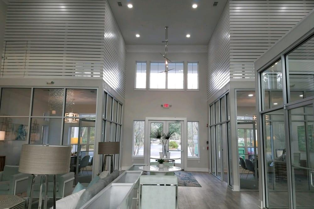 Front entrance at Ingleside Plantation Apartments in North Charleston, South Carolina
