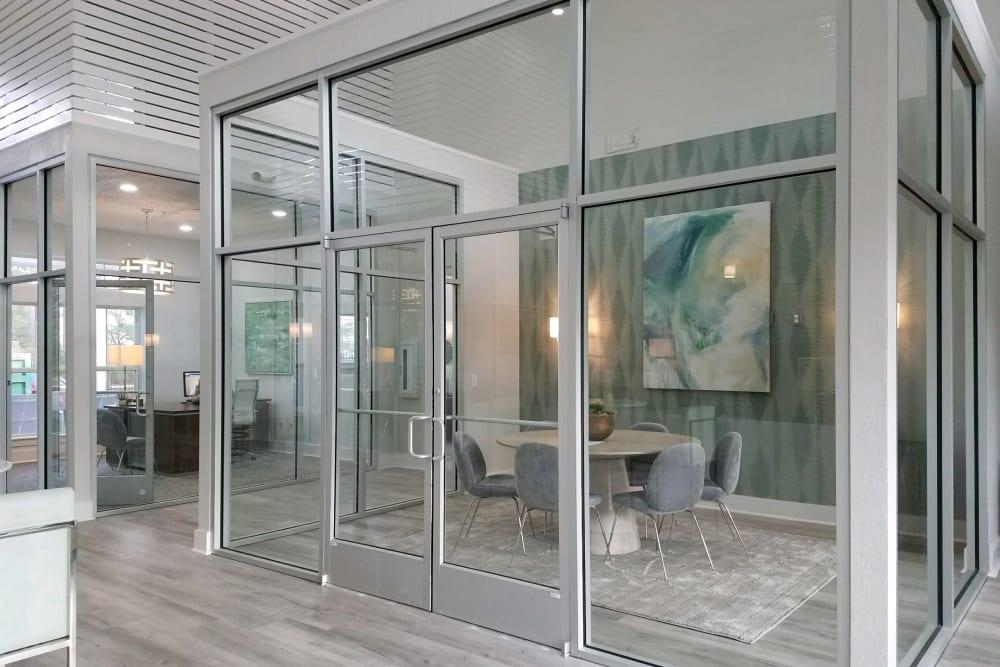 Leasing office at Ingleside Plantation Apartments in North Charleston, South Carolina