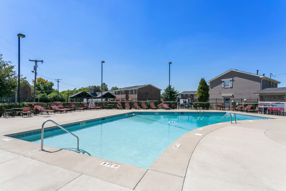 Swimming pool at Audubon Park in Nashville, Tennessee