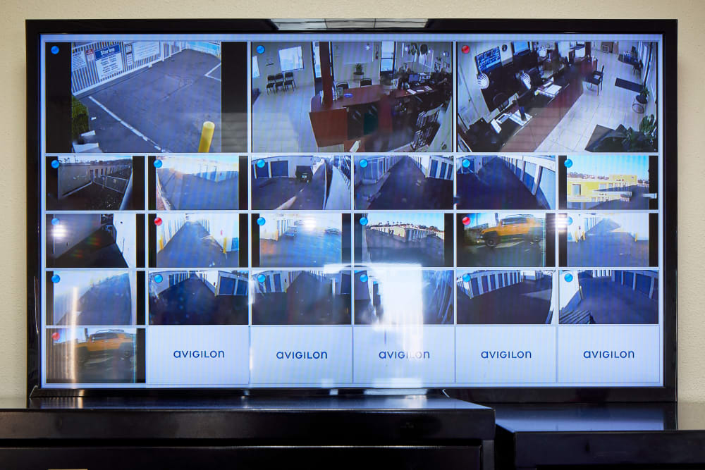 Digital surveillance system at Stor'em Self Storage in San Marcos, California