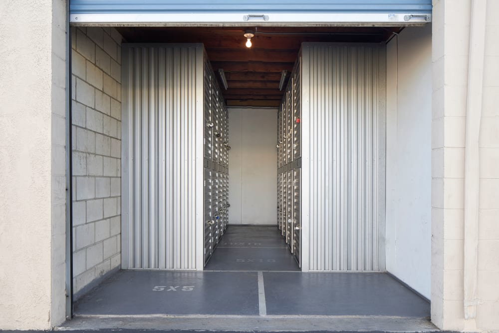 Doorway to units at Stor'em Self Storage in Salt Lake City, Utah