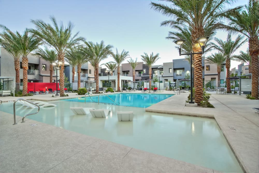 Swimming Pool at Apartments in Henderson, Nevada