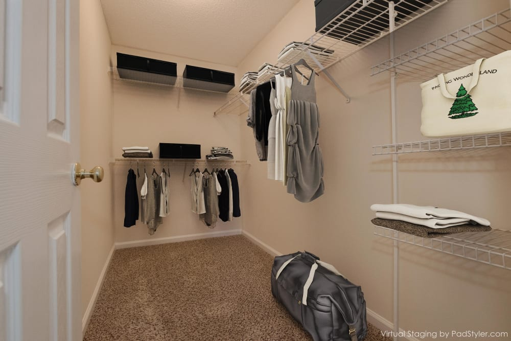 Enjoy Apartments with Walk-in Closets at Forest Oaks Apartment Homes in Rock Hill, South Carolina