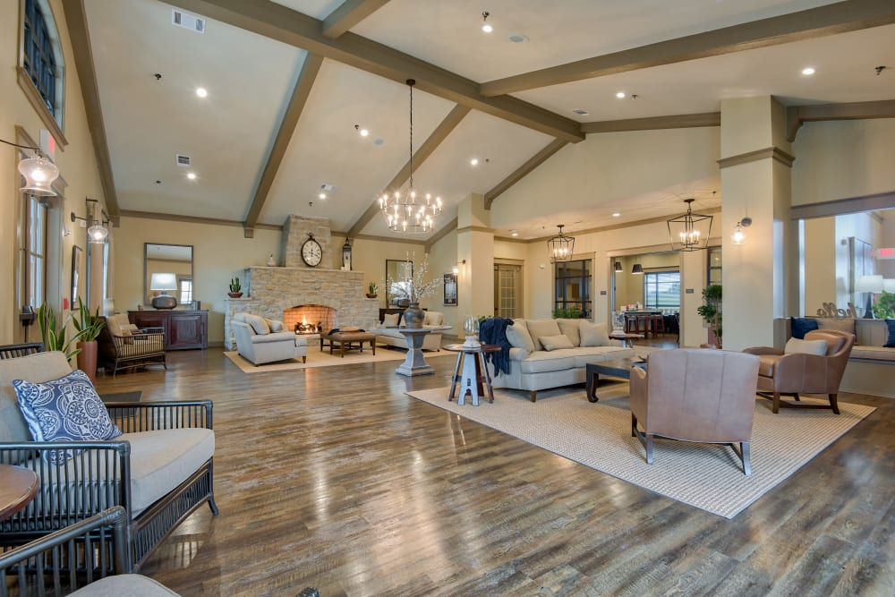 Enjoy Apartments with a Clubhouse at Boulders at Overland Park Apartments