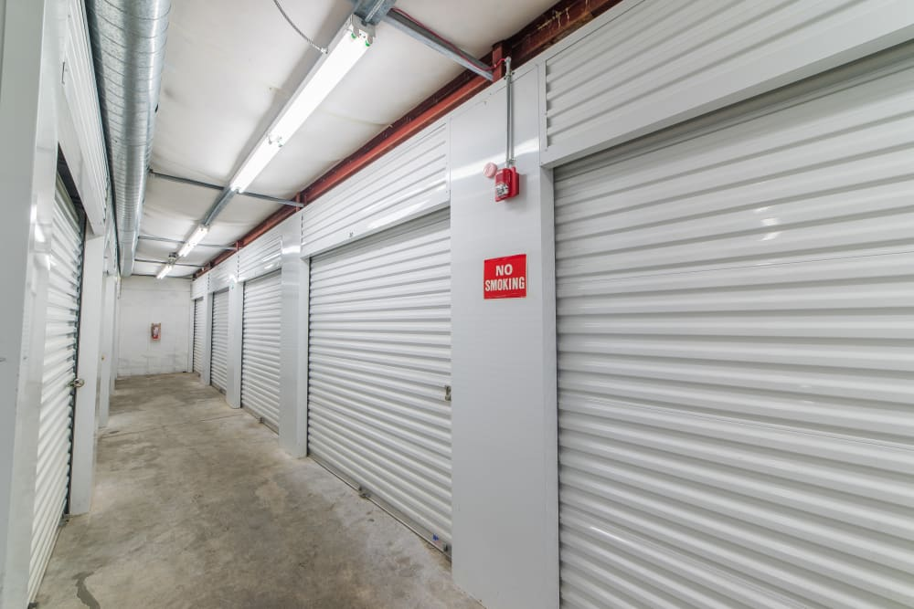 Climate controlled storage units at Sound Storage in Port Orchard, Washington