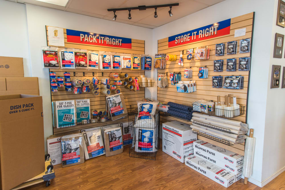 Moving and packing supplies available at Sound Storage in Port Orchard, Washington