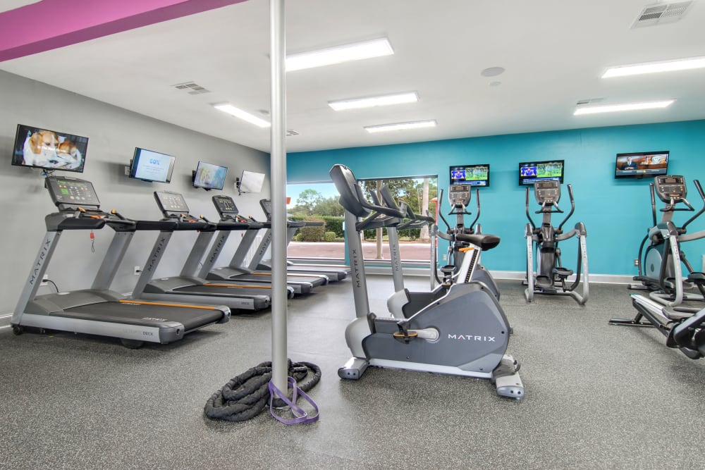 Our Apartments in New Orleans, Louisiana offer a Fitness Center