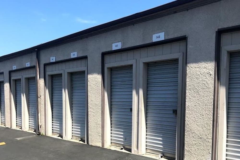 Small storage units available at Storage Solutions in Pomona, California