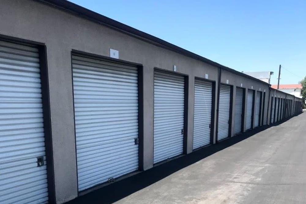 Ample space for storage at Storage Solutions in Pomona, California