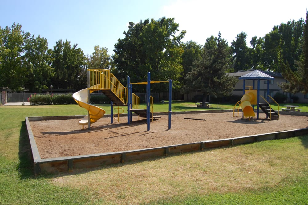 Playground at Emerald Pointe in Modesto, California