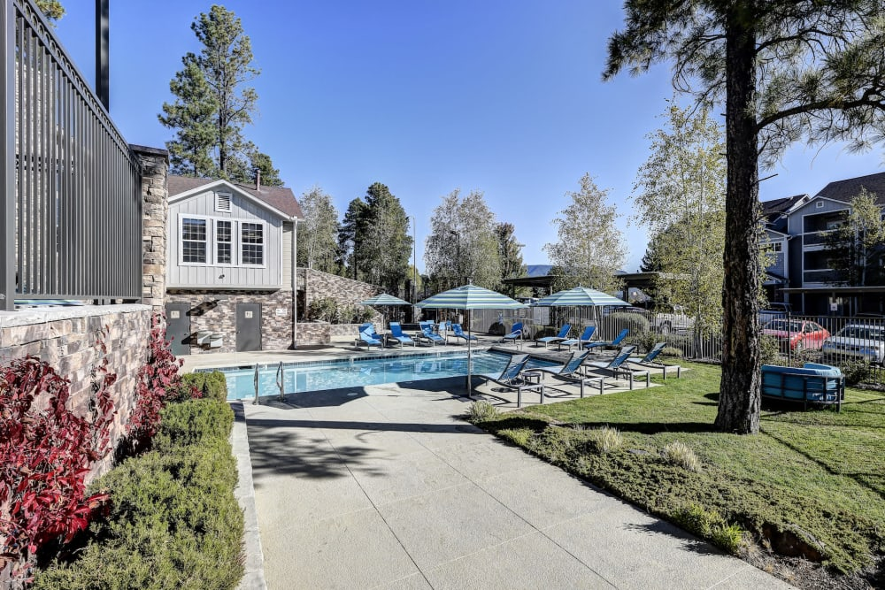 Swimming pool at at Sterling Pointe in Flagstaff, Arizona