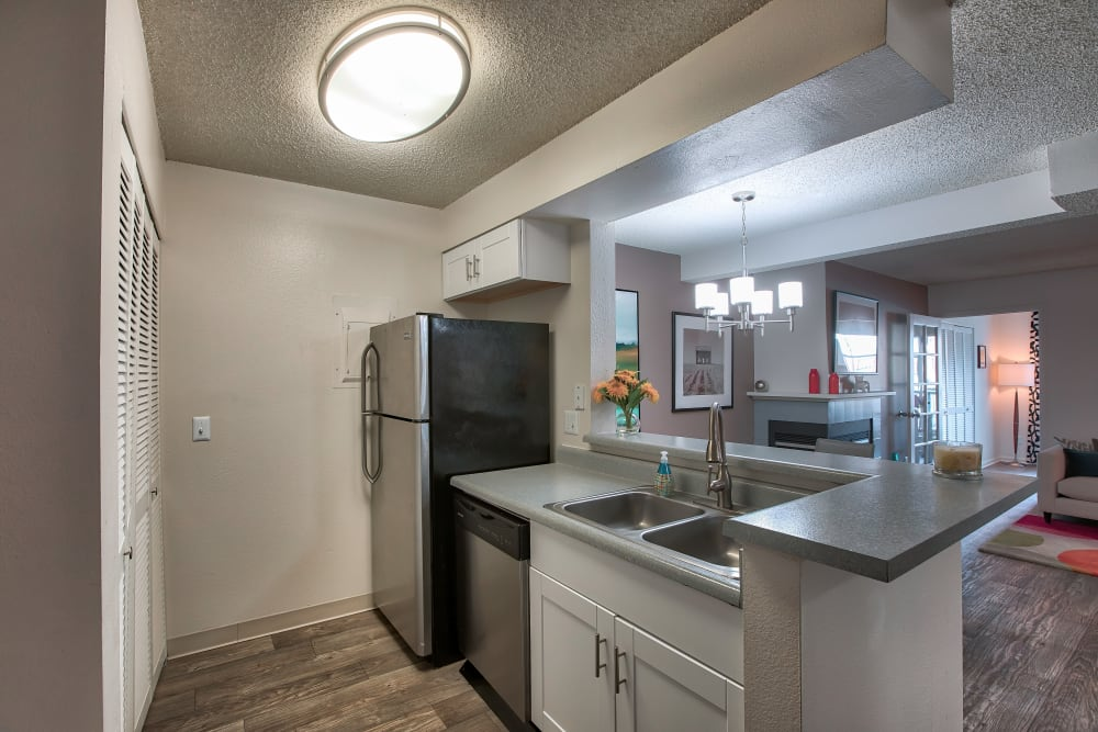Kitchen at Apartments in Northglenn, Colorado