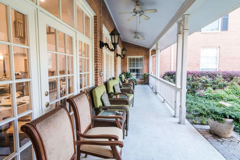 Senior living with elegant decorating style