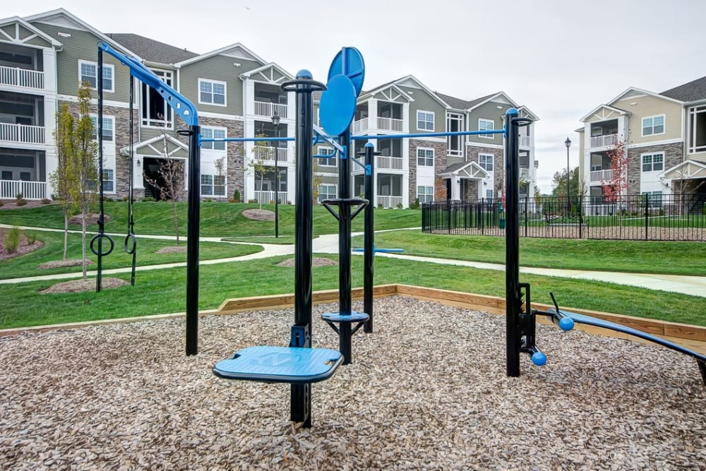 Playground at Oasis at Montclair Apartments in Dumfries, Virginia