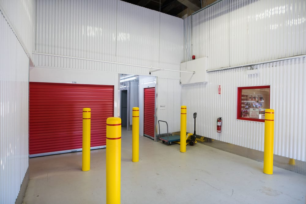 Loading area at Apple Self Storage - Saint John North in Saint John, New Brunswick