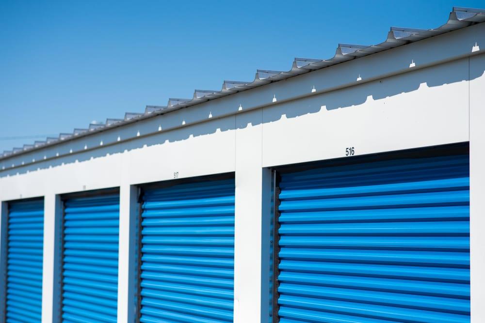 Apple Self Storage - Saint John West in Saint John, New Brunswick, exterior storage units for rent