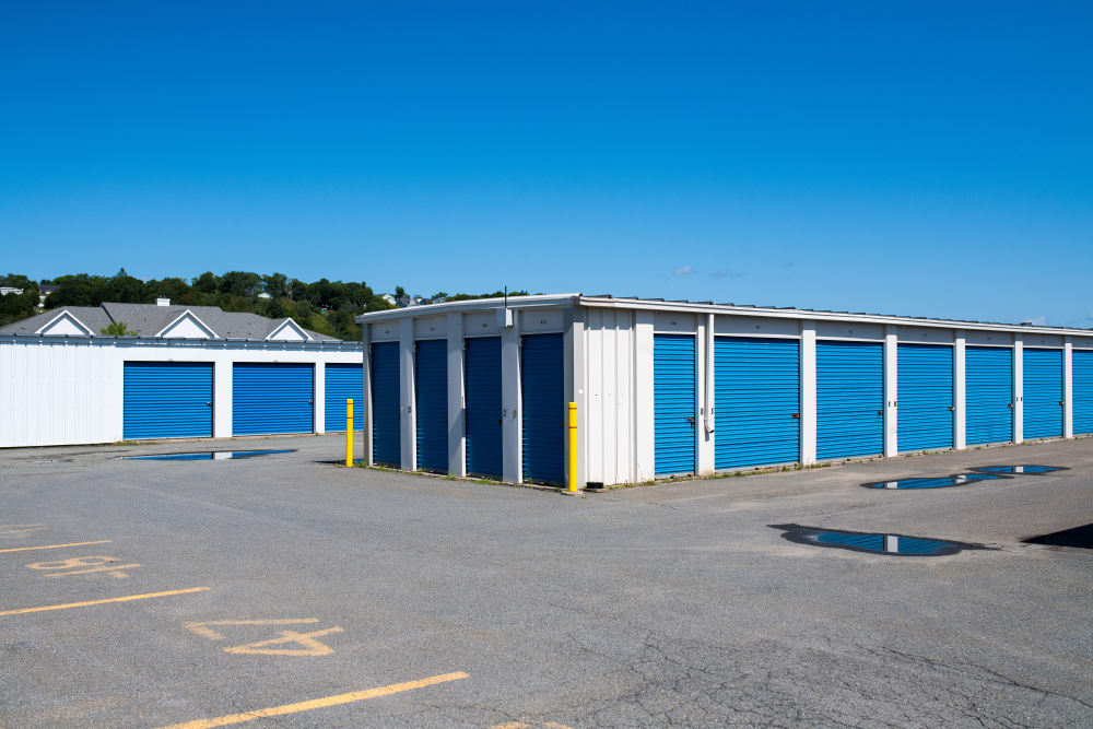 Ample room to maneuver and park at Apple Self Storage - Saint John West in Saint John, New Brunswick