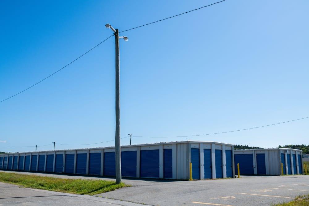 Apple Self Storage - Saint John West in Saint John, New Brunswick, offers a variety of storage units