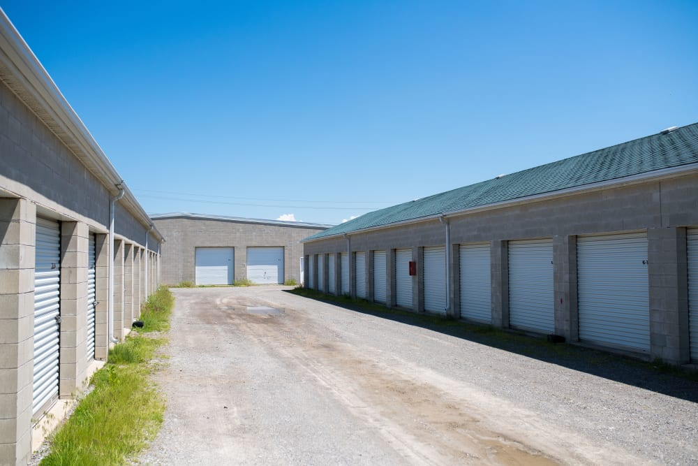 Wide driveways for your convenience at Apple Self Storage - St. Catharines in St. Catharines, Ontario