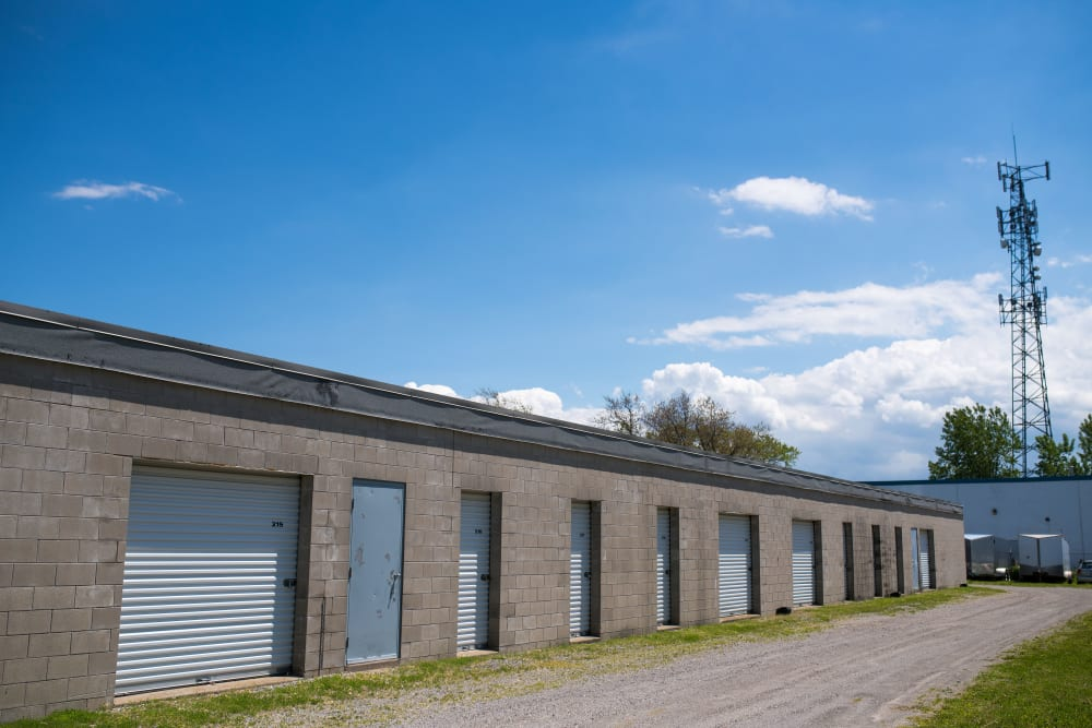 Storage units in a variety of sizes at Apple Self Storage - St. Catharines in St. Catharines, Ontario
