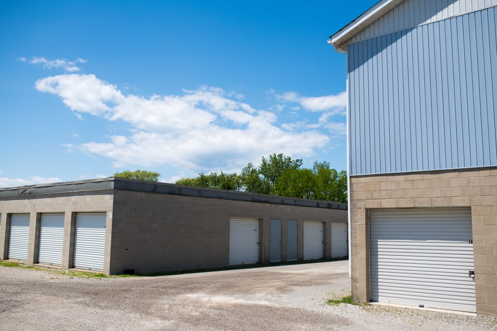 Conveniently wide driveways at Apple Self Storage - St. Catharines in St. Catharines, Ontario