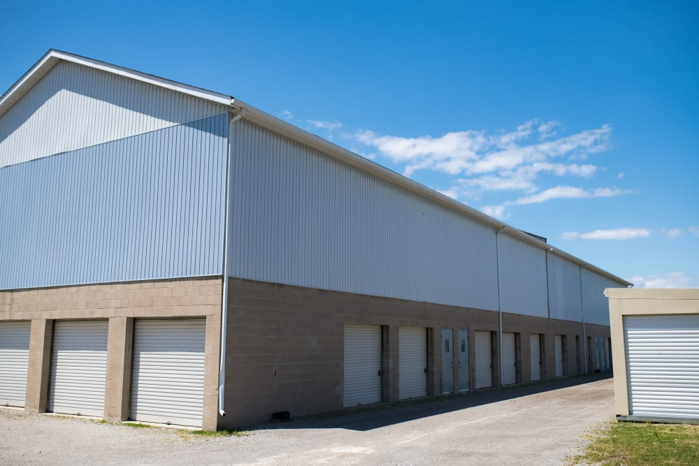 Wide driveways at Apple Self Storage - St. Catharines in St. Catharines, Ontario