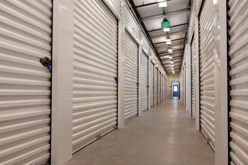 Indoor storage units at Mini Storage Depot in Louisville, Kentucky