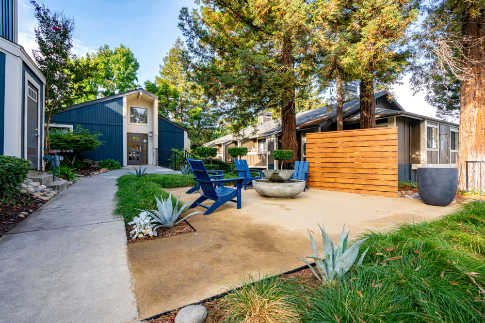 Exterior Seating area at Terra Martinez in Martinez, California