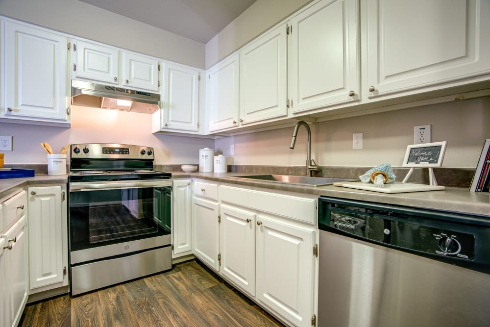 Our Apartments in Martinez, California offer a Kitchen