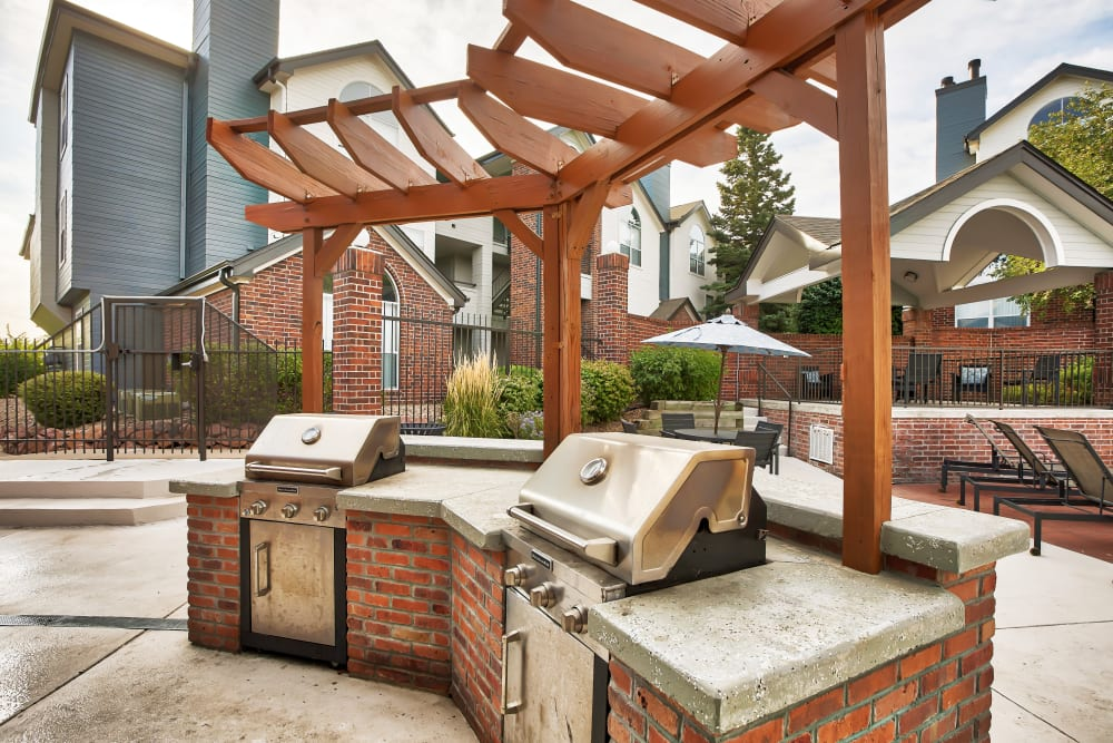 Enjoy Apartments with an Outdoor BBQ Area at Keystone Apartments