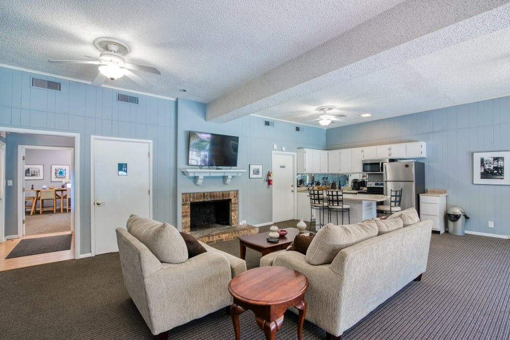 Clubhouse at Post Ridge Apartments in Nashville, Tennessee