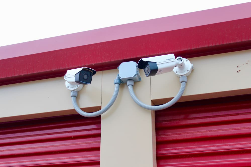 Video surveillance at Global Self Storage in West Henrietta, New York