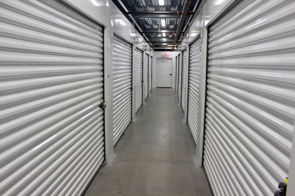 Indoor units at Global Self Storage in West Henrietta, New York