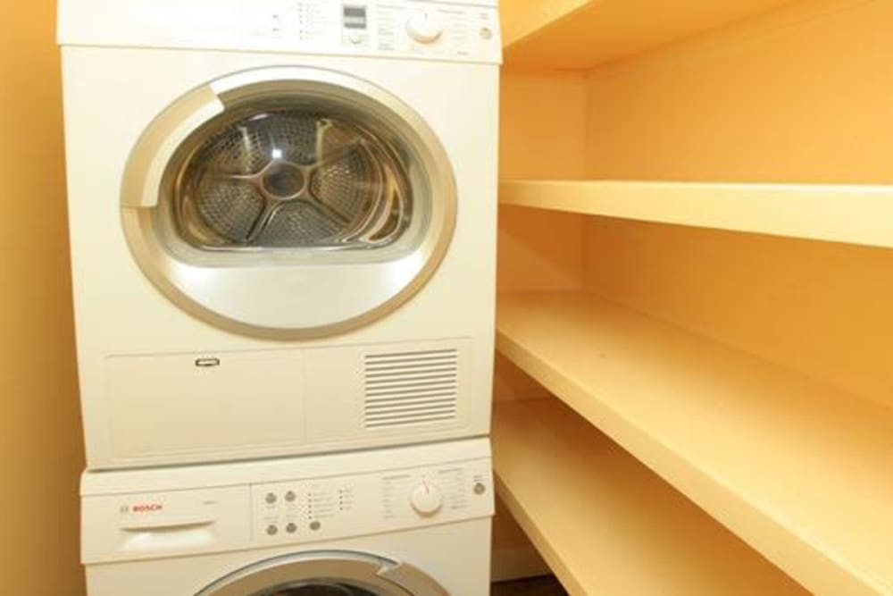 In-unit washer and dryer at Cortlandt Ridge in Ossining, New York
