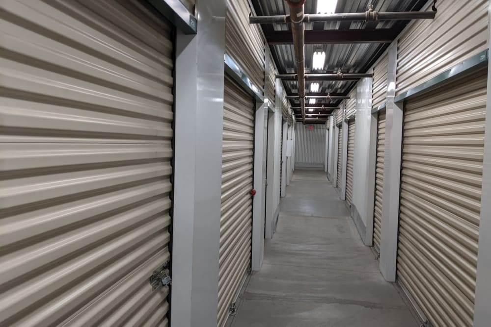 Interior storage at Golden State Storage - Horizon Ridge in Henderson, Nevada
