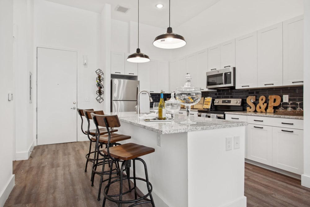 Our Apartments in Atlanta, Georgia offer a Kitchen