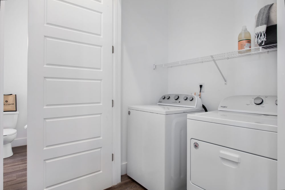 Washer and Dryer at Apartments in Atlanta, Georgia