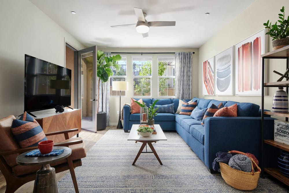 Enjoy Apartments with a Living Room at The Trails at Canyon Crest