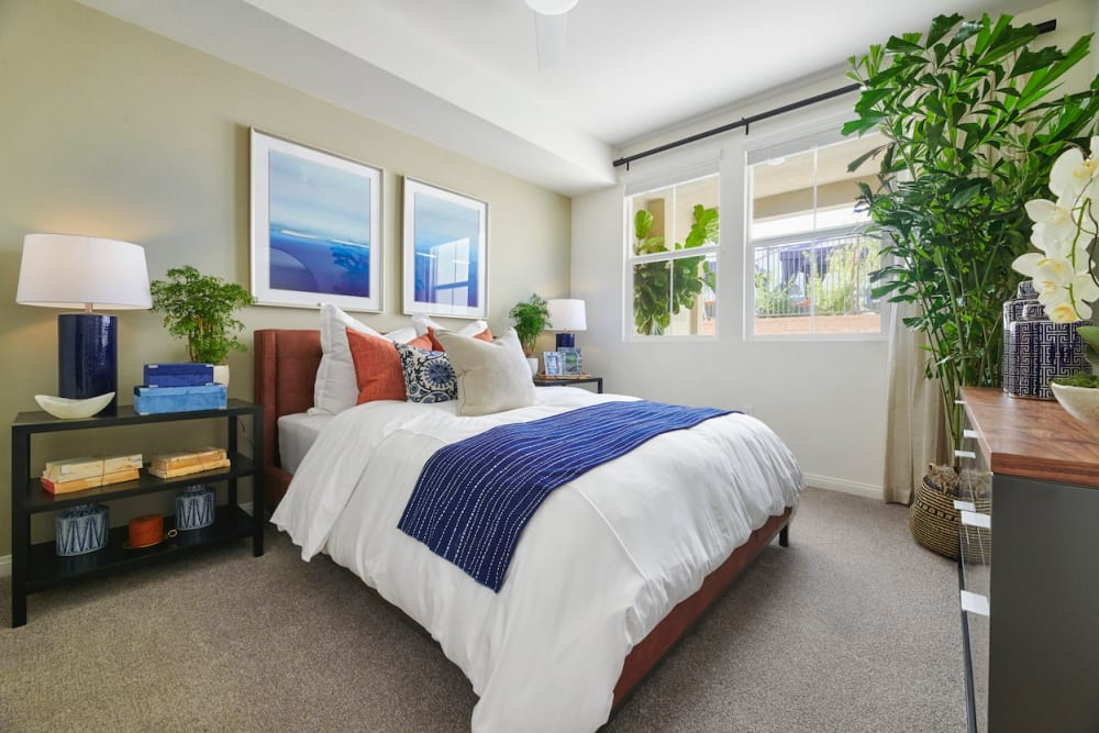Bedroom at The Trails at Canyon Crest in Riverside, California