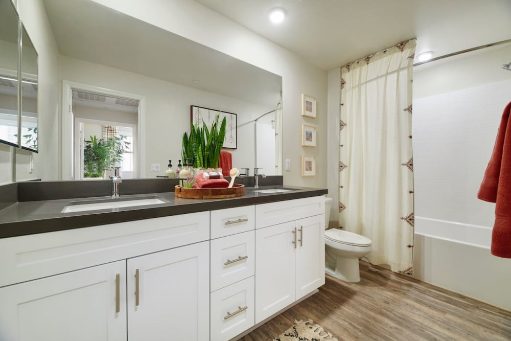 Bathroom at The Trails at Canyon Crest in Riverside, California