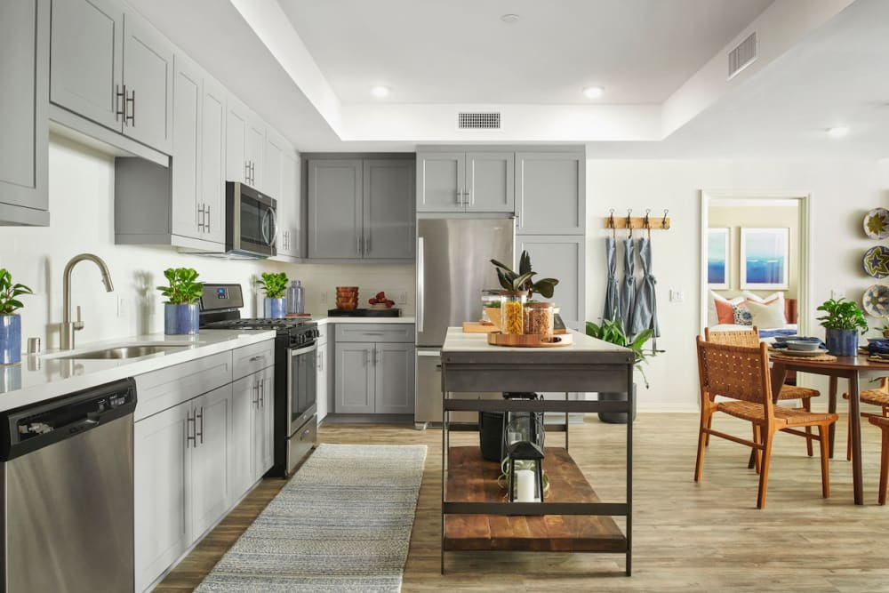 Kitchen at The Trails at Canyon Crest in Riverside, California