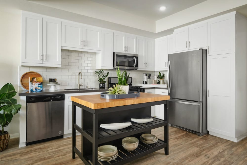 The Trails at Canyon Crest offers a Kitchen in Riverside, California