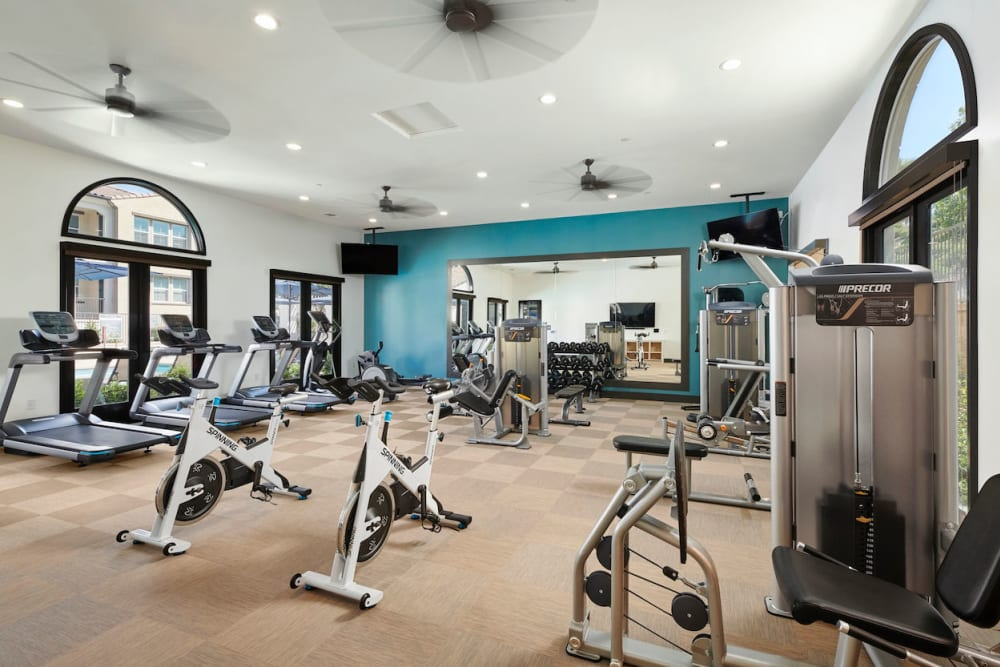 Fitness Center at The Trails at Canyon Crest in Riverside, California