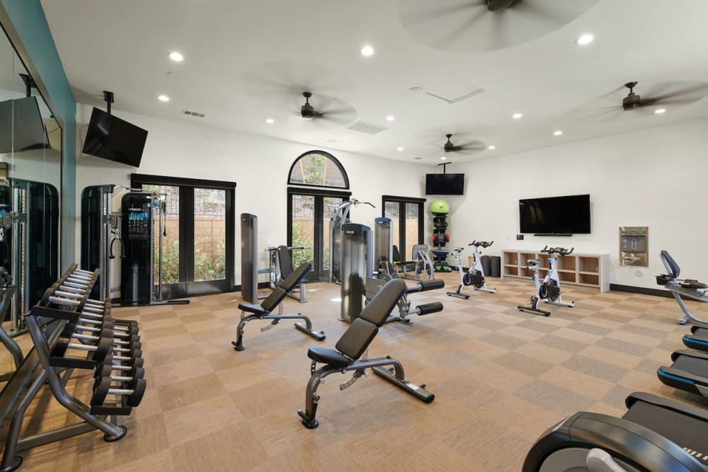 Our Apartments in Riverside, California offer a modern Fitness Center