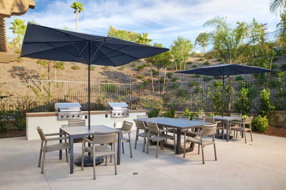 The Trails at Canyon Crest offers a BBQ Area in Riverside, California