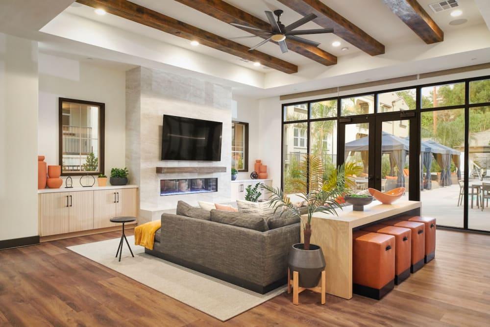 Living Room at Apartments in Riverside, California
